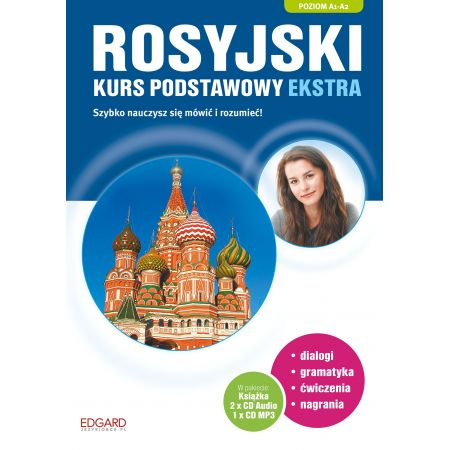 Rosyjski. Kurs podstawowy ekstra A1-B1 + CD