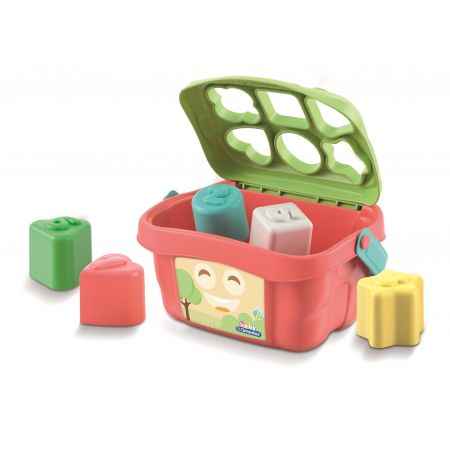 Koszyk kształtów i kolorów
