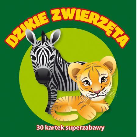 30 kartek superzabawy. Dzikie zwierzęta
