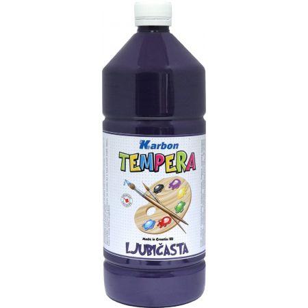 Farba tempera w butelce 1l. Fioletowy , Karbon