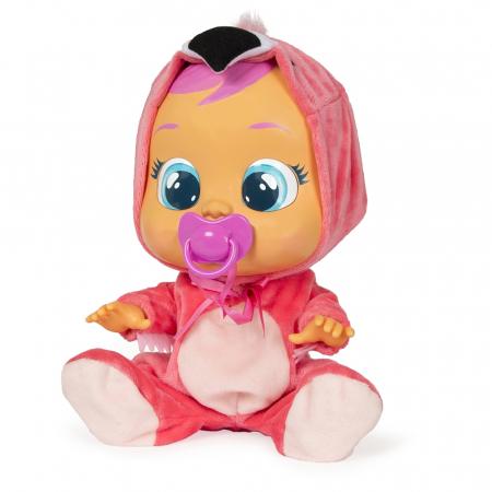 Lalka interaktywna Cry Babies Flamingo Fancy