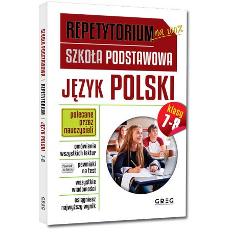 Repetytorium. Szkoła podstawowa. Język polski. Klasy 7-8
