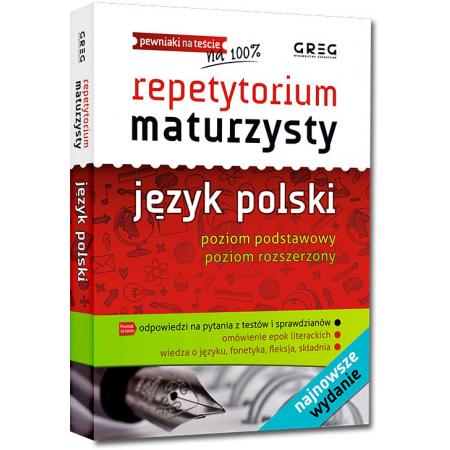 Repetytorium maturzysty 2021. Język polski. Poziom podstawowy i rozszerzony