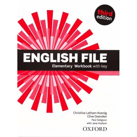 English File 3E Elementary WB With Key OXFORD