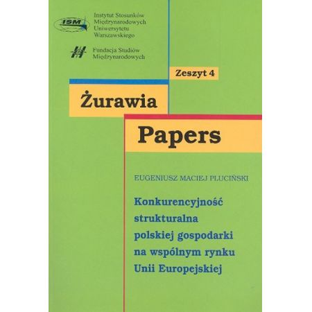 Konkurencyjność strukturalna polskiej gospodarki na wspólnym rynku Unii Europejskiej