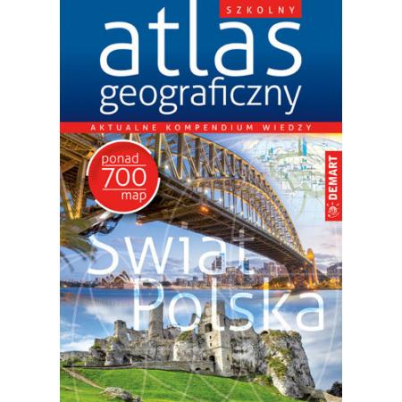 Szkolny atlas geograficzny DEMART
