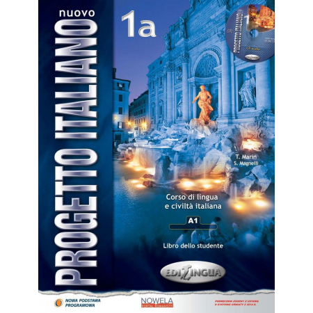Nuovo Progetto Italiano 1A. Podręcznik