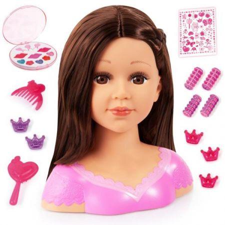Bayer Głowa do stylizacji Charlene Super Model + make-up 90088AK