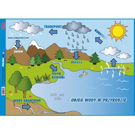 Puzzle - Obieg wody