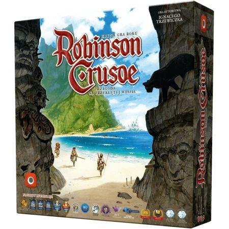 Robinson Crusoe. Przygoda na przeklętej wyspie. Gra planszowa