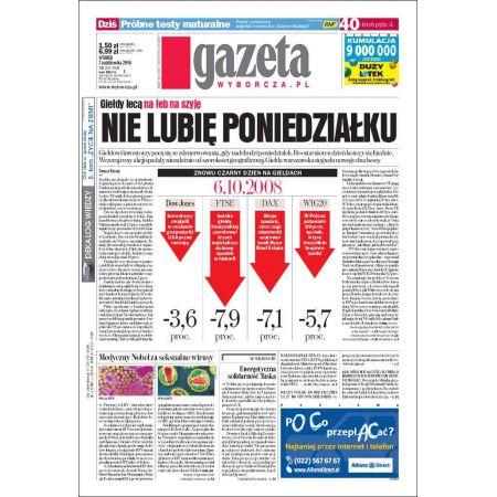 Gazeta Wyborcza - Zielona Góra 235/2008