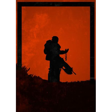 Dawn of Heroes - Marcus Fenix, Gears of War - plakat
