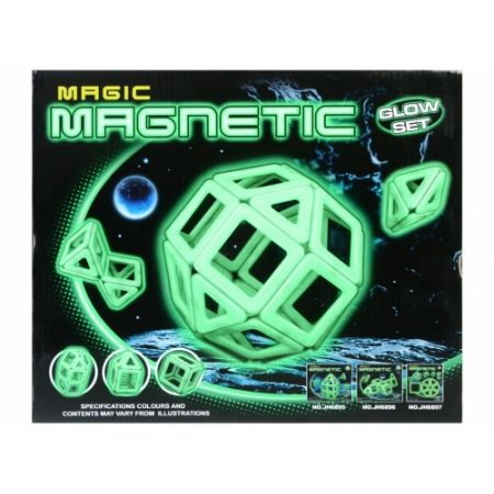 Klocki magnetyczne 26el. Magic - Mega Creative