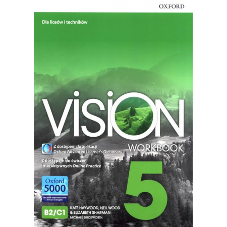 Vision 5 WB + online practice OXFORD