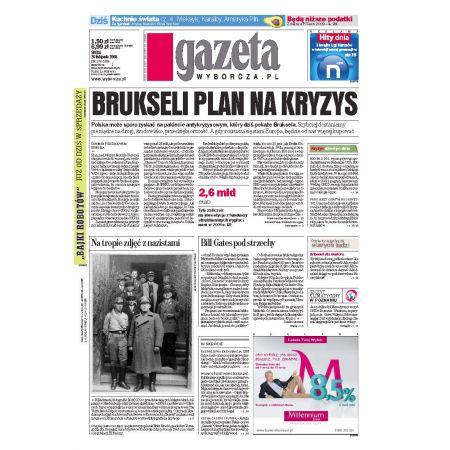 Gazeta Wyborcza - Toruń 276/2008
