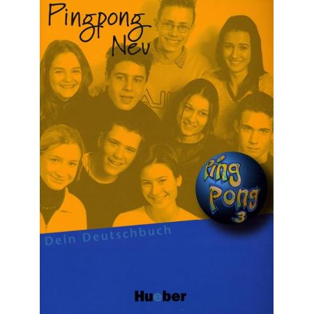 Pingpong neu 3 podręcznik HUEBER