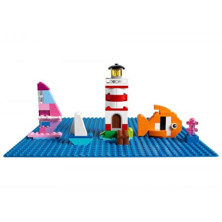 LEGO Classic. Niebieska płytka konstrukcyjna 10714