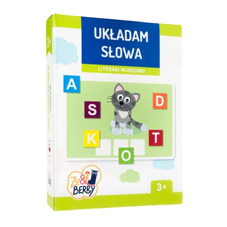 Zuberry Układam Słowa Literaki Młodz Trefl Trefl Kraków W