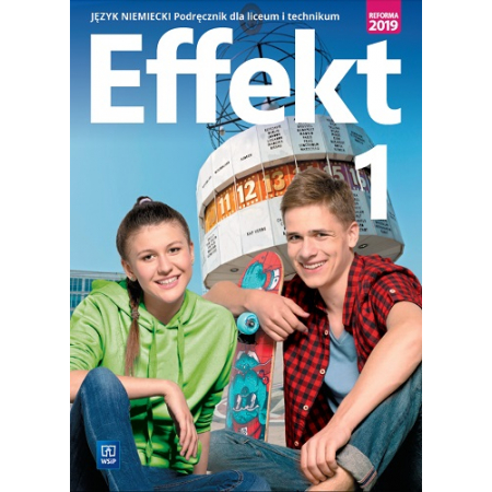 Effekt 1. Język niemiecki. Podręcznik dla liceum i technikum + CD