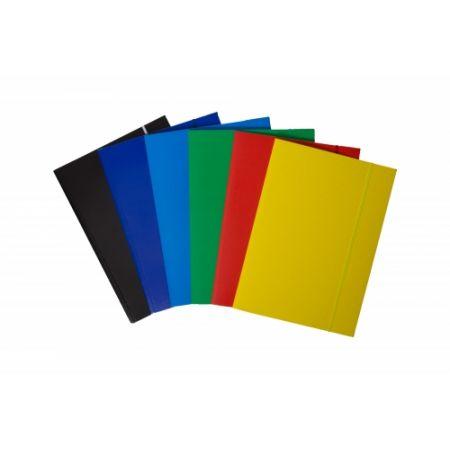 Teczki kartonowe z gumką A4 Bantex żółte
