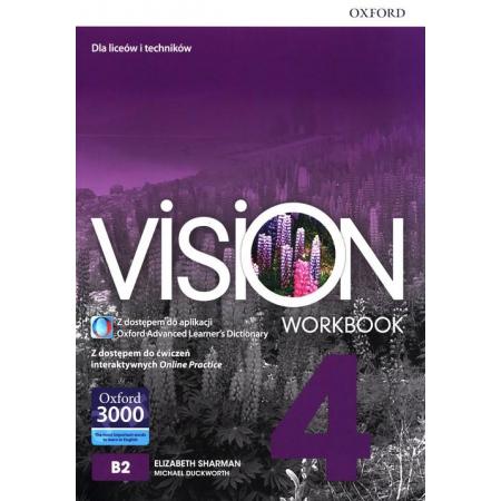 Vision 4 WB + online practice