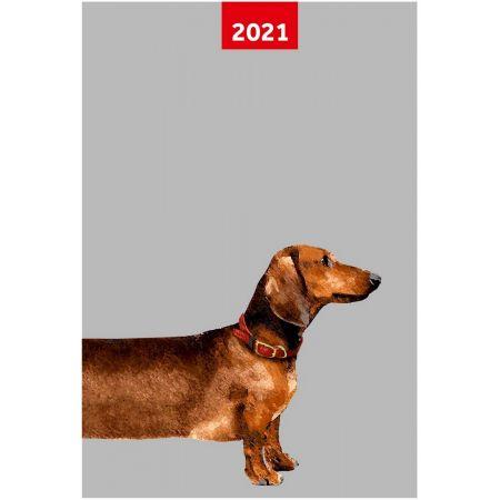 Kalendarz 2021 A5 tygodniowy Overgrown NARCISSUS