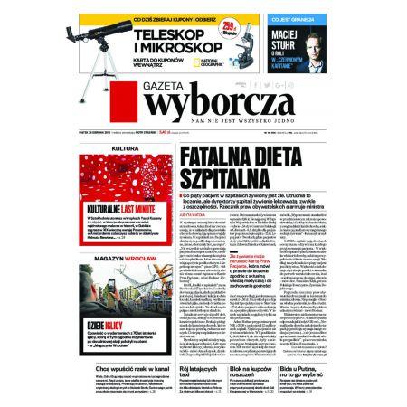 Gazeta Wyborcza - Zielona Góra 199/2016