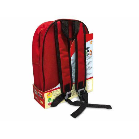 Bing. Plecak z klockami konstrukcyjnymi czerwony