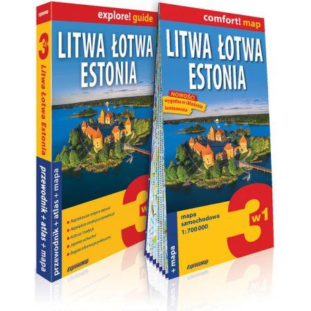 Explore! guide Litwa, Łotwa, Estonia 3w1