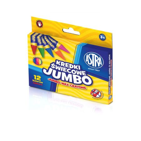 Kredki świecowe Jumbo