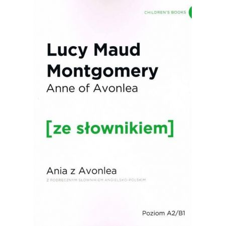 Ania z Avonlea w.angielska + słownik
