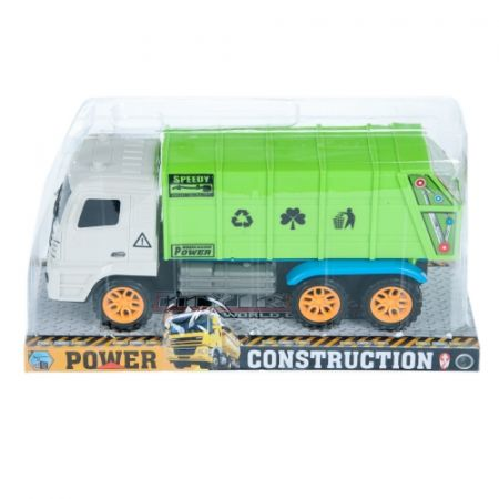 Auto ciężarowe Śmieciarka MEGA CREATIVE 458263