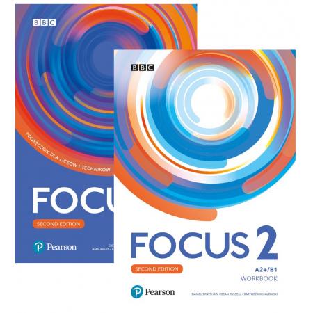 Pakiet Focus Second Edition 2: Student's Book + kod (Digital Resources + Interactive eBook), Workbook + kod (MyEnglishLab + Online Practice)