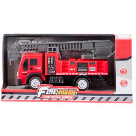 Auto straż pożarna 29x14x10cm MC