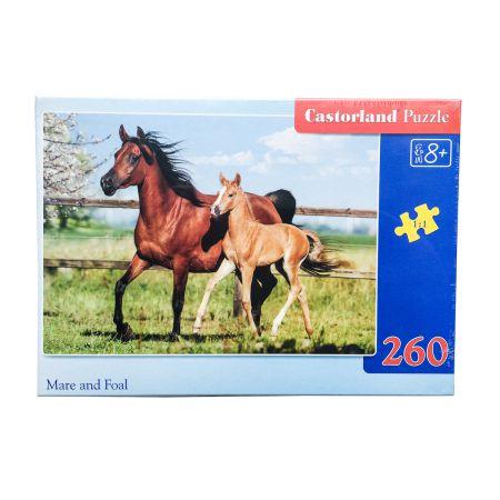 Castor Taniaksiazka And Foal 27064 1 Puzzle 260 B W pl Mare dBoeCxr