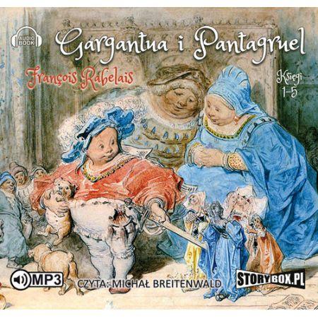 CD MP3 Gargantua i pantagruel księgi 1-5