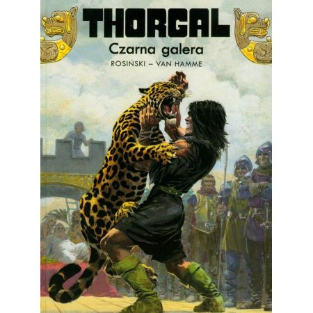 Thorgal, tom 4. Czarna galera