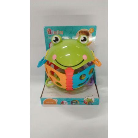 Kula grzechotka żaba BAM BAM
