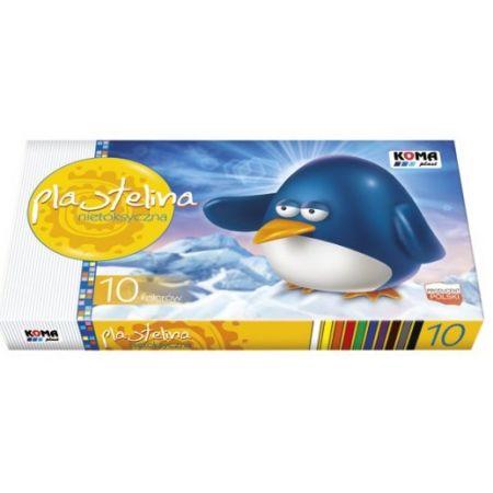 Plastelina 10 kolorów zmywalna