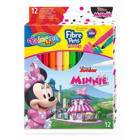 Flamastry Colorino Kids 12 kolorów Minnie