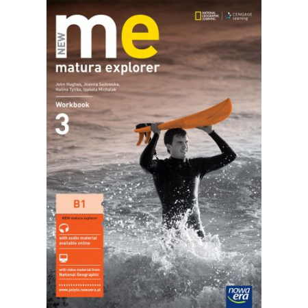 Matura Explorer. New Me. Klasa 3. Liceum Ogólnokształcące. Ćwiczenia. Intermediate. Język angielski