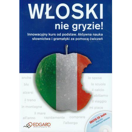 Włoski nie gryzie! Książka + CD EDGARD