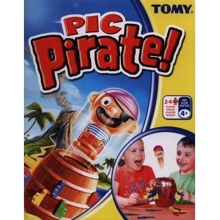 Beczka z wyskakującym piratem TOMY