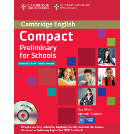 Compact Preliminary for Schools Student's Pack + CD