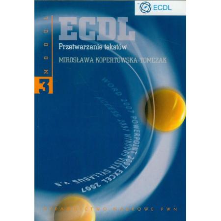 ECDL Moduł 3 Przetwarzanie tekstów