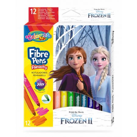 Flamastry Colorino Kids 12 kolorów Frozen