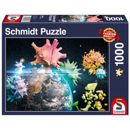 Puzzle PQ 1000 Planeta Ziemia 2020 G3