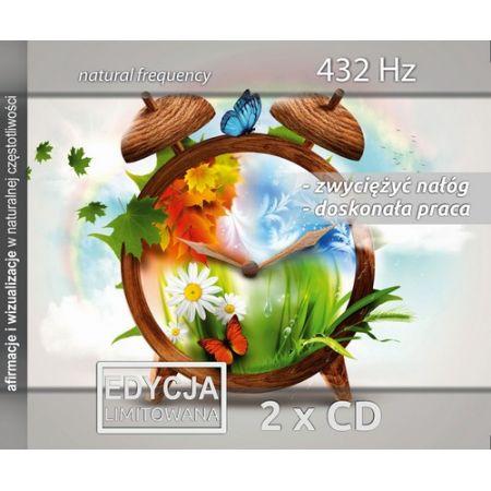 Zwyciężyć nałóg & Doskonała praca, 432 Hz, 2 CD