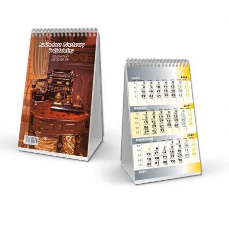 Kalendarz 2021 Biurkowy trójdzielny SB11