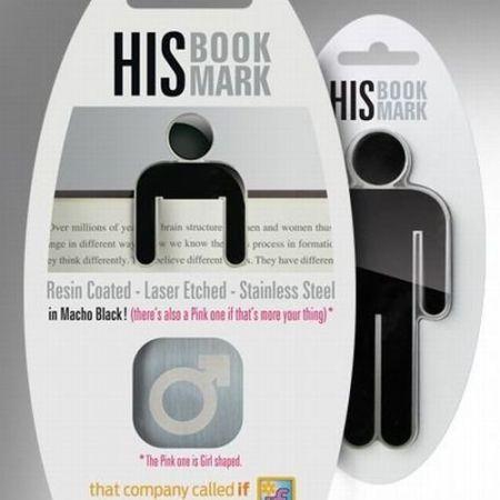 HIS Bookmark - metalowa zakładka do książki